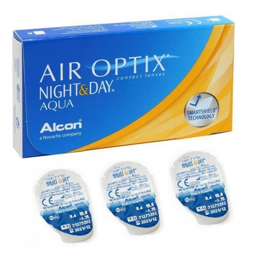 Air Optix Night & Day акция